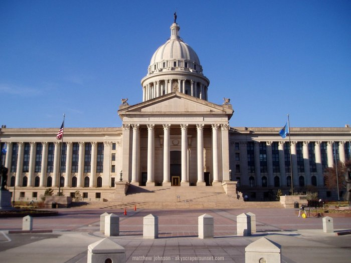 Oklahoma City State Capitol Building Tours