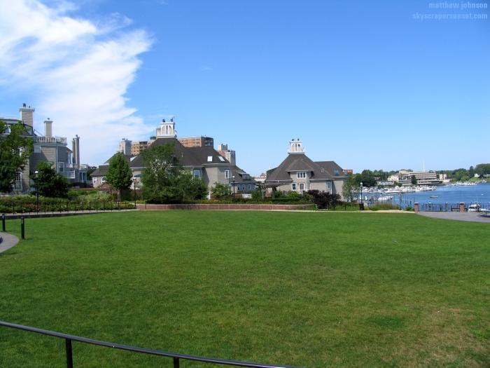 The Bluffs From Riverside Gardens Park