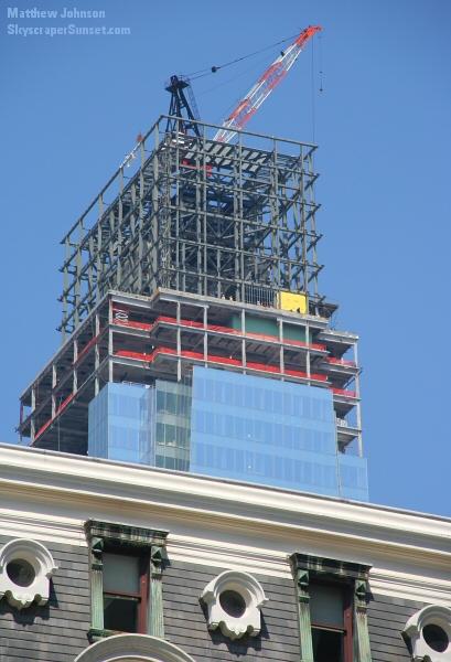 Philadelphia Comcast Centric Amp City Hall Observation